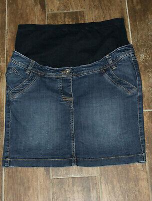 Umstandsrock Gr. 38 Yessica Minirock Jeansrock Schwangerschaftsrock Blau Rock