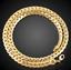 18k-Gold-Kette-vergoldet-Halskette-Panzerkette-Schmuck-Herren-Maenner-Edelstahl Indexbild 4