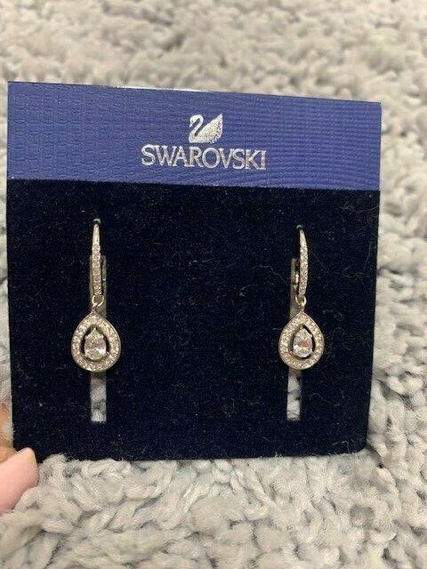 066caf4a118b3 Swarovski 5197458 Attract Light PEAR Pierced Earrings
