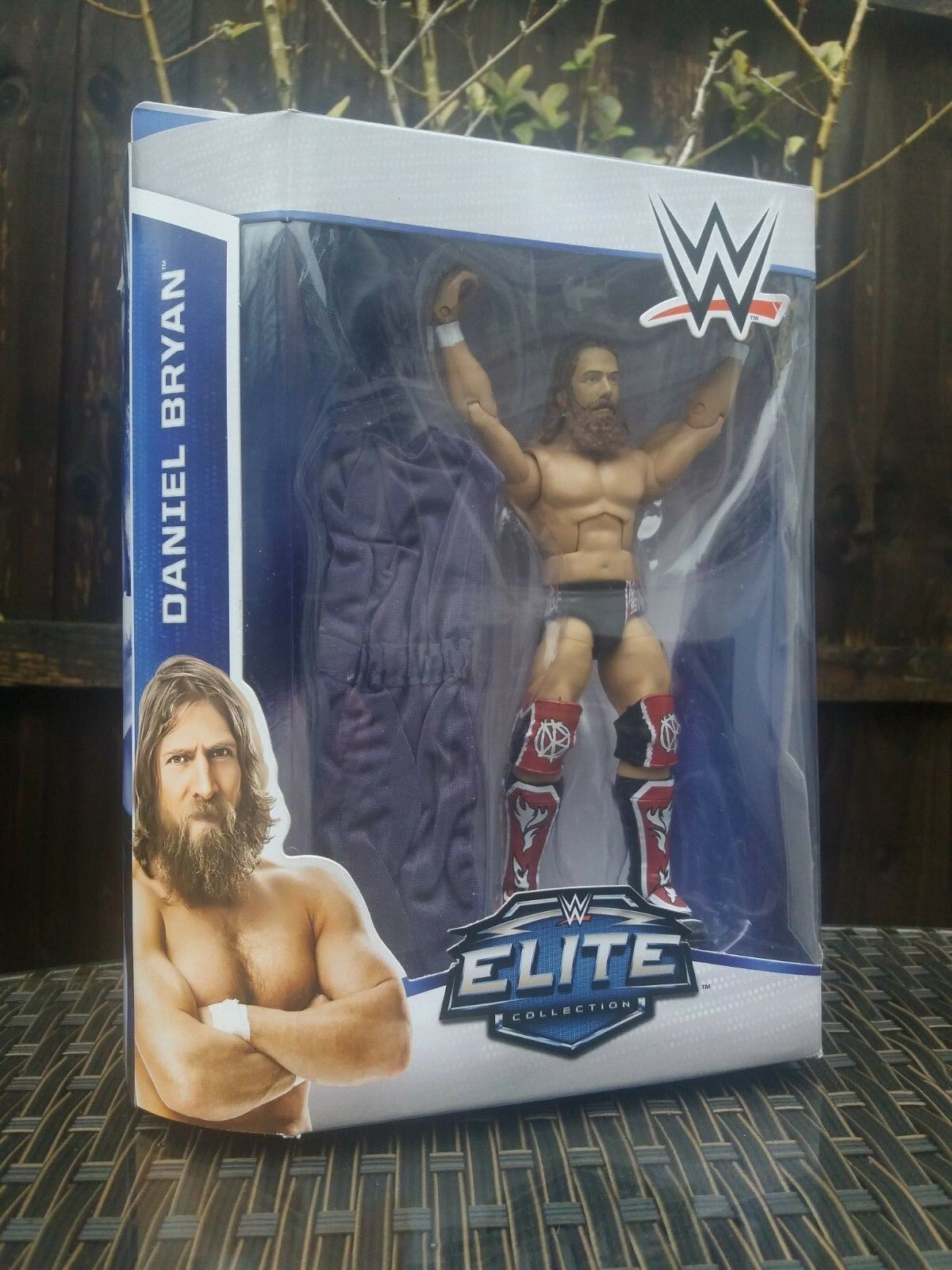 OFFICIAL WWE ELITE SERIES 32 DANIEL BRYAN WRESTLING ACTION FIGURE MATTEL TOY NEW