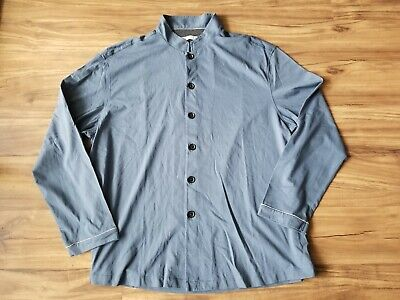 size S Blue Grey NEW Cathay Pacific First Class PYE Airline Pyjamas Pajamas