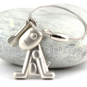 Creative-Squatting-Dog-Keychain-Bone-Key-Chain-Ring-Keyring-Keyfob-Key-Holder