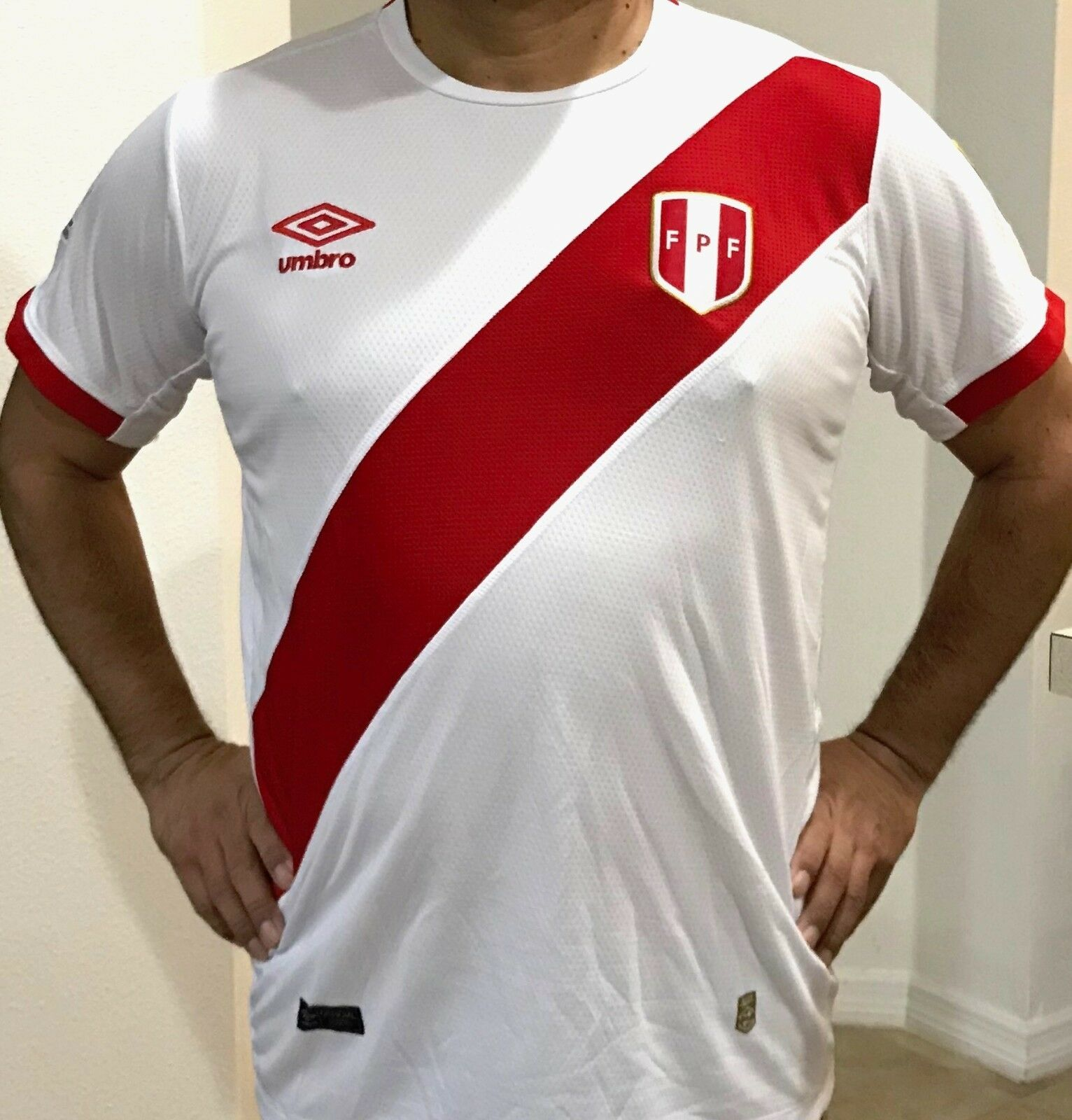 Peruvian Soccer Tshirt for men