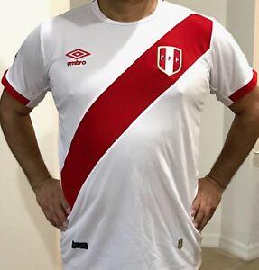 b06ff0635 Image is loading Peruvian-Soccer-T-shirt-for-men
