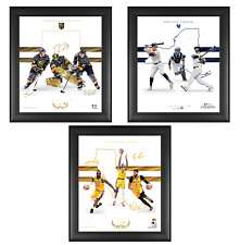 """Framed 15"""" x 17"""" Team Foundations Collage - LE 50 - eBay Black Friday Exclusive"""