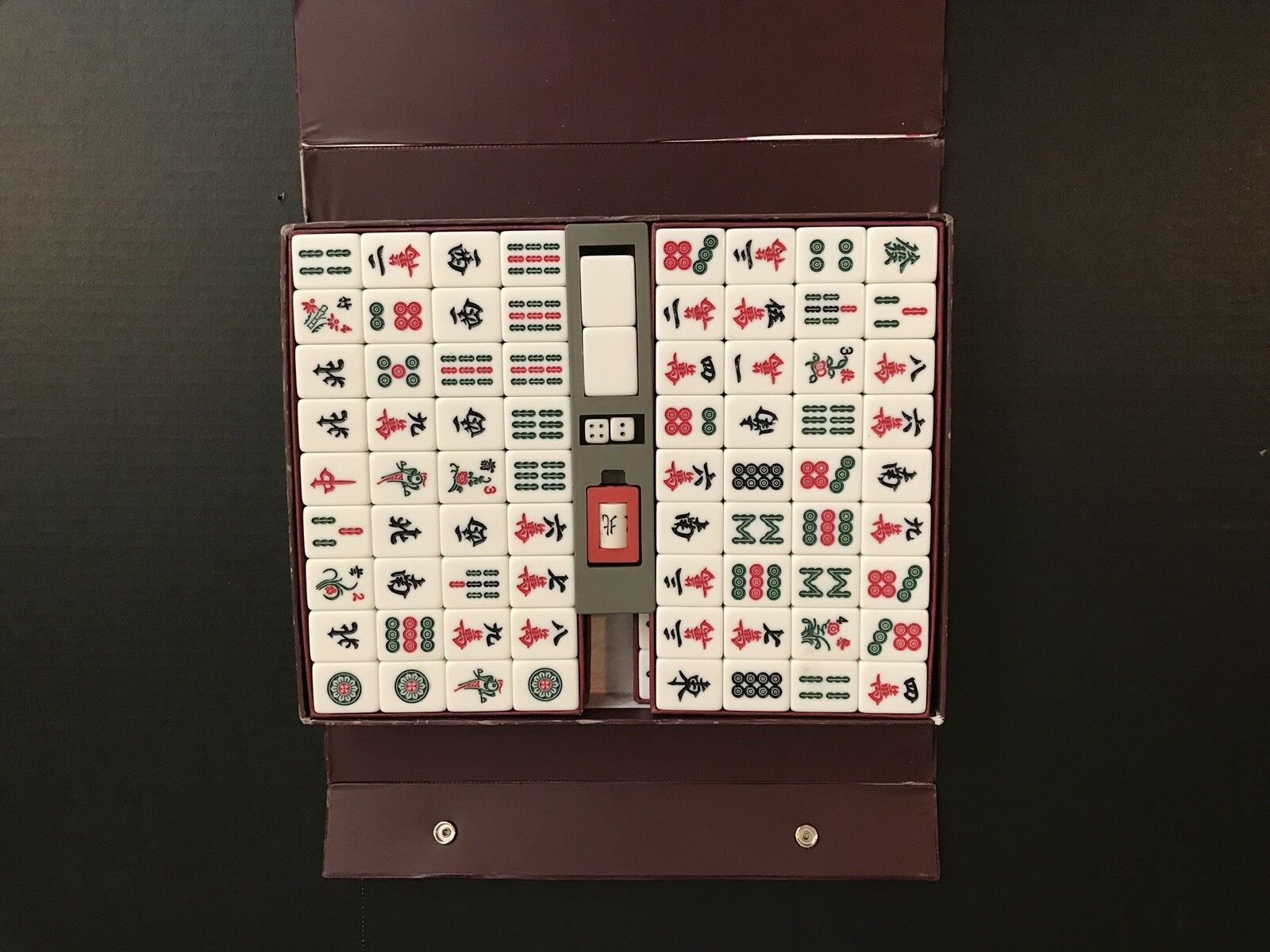 Vintage Japanese Mahjong Game Game Game Set e3f3eb - wimswt