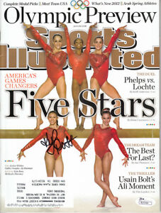 Kyla-Ross-autographed-signed-auto-Fierce-5-2012-Olympics-Sports-Illustrated-JSA