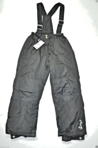 32Degrees Weather proof girl snow pants Insulated Black S 7//8 M 10//12 new zip of