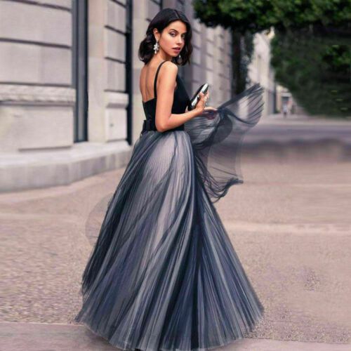Women Gown Cocktail Dress Formal Wedding Long Bridesmaid Evening Party Ball Prom