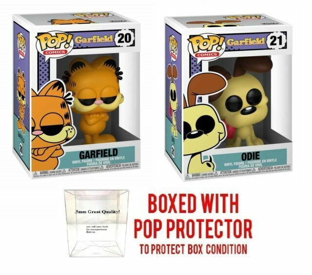 Funko Pop Comics Garfield Odie Vinyl Figure 40176 For Sale Online Ebay