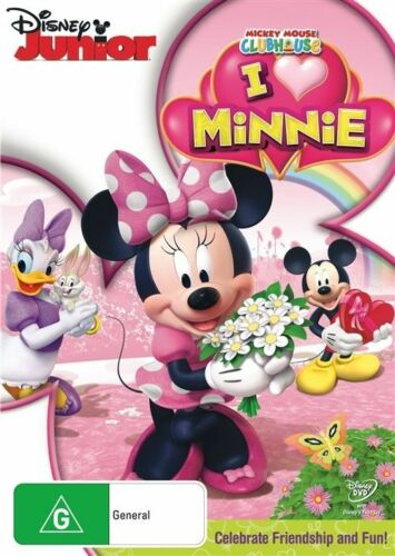 1 of 1 - Mickey Mouse Clubhouse - I Heart Minnie (DVD, 2012)