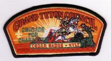 Teton Peaks Council Patch CP /& Cedar Badge Patch