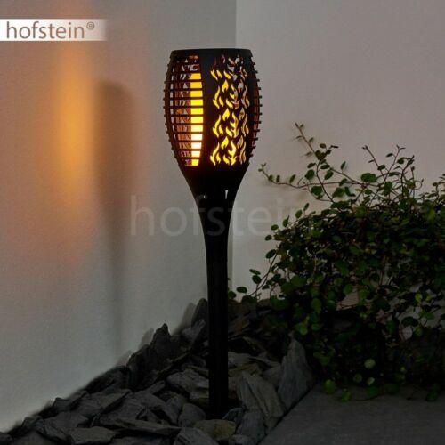 LED solar exterior caminos lámparas negro terrazas lámpara balcón iluminación de jardín