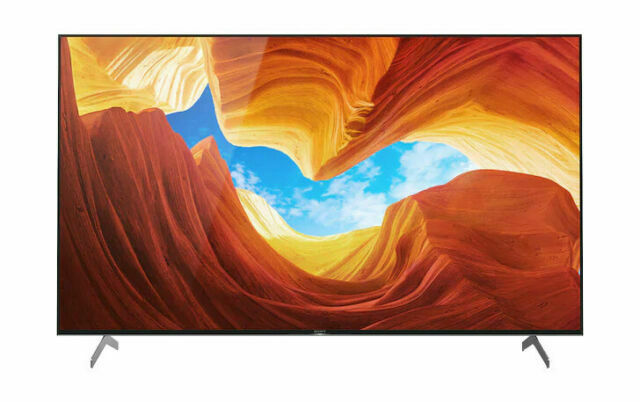 Sony X900H 75 4K ULTRA HD FULL ARRAY LED HDR ANDROID SMART TV, XBR-75X900H, 2020 Model