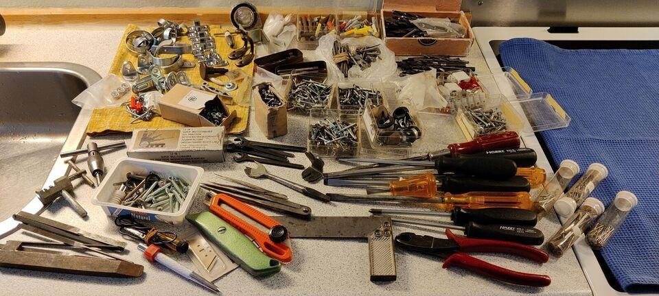 Diverse brugt værktøj