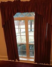 REDUCED! Now With Rods...J C Penney Supreme Drapes 8 37 X96 -2 Sets Of Valances