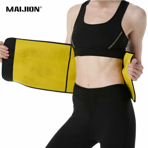 Men /& Women/'s Adjustable Waist Trainer Belt Neoprene Tummy Slimming Body Shapers