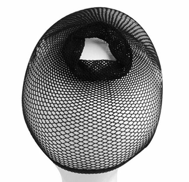 Unisex Elastic Stretchable Mesh Wig Cap Hair Snood Nets For Cosplay Salon CAD
