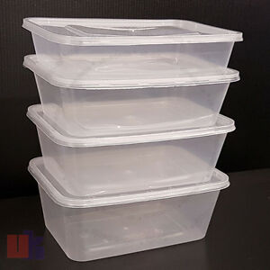Image Is Loading All Sizes Taha Plastic Food Containers Tubs Lids