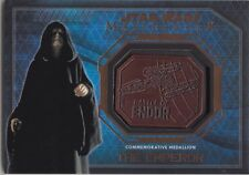 Topps Star Wars Masterwork Bronze Medallion The Emperor Battle of Endor