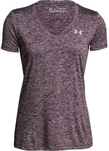 Under Armour UA Women/'s Tech Twist V-Neck Short Sleeve T-Shirt New