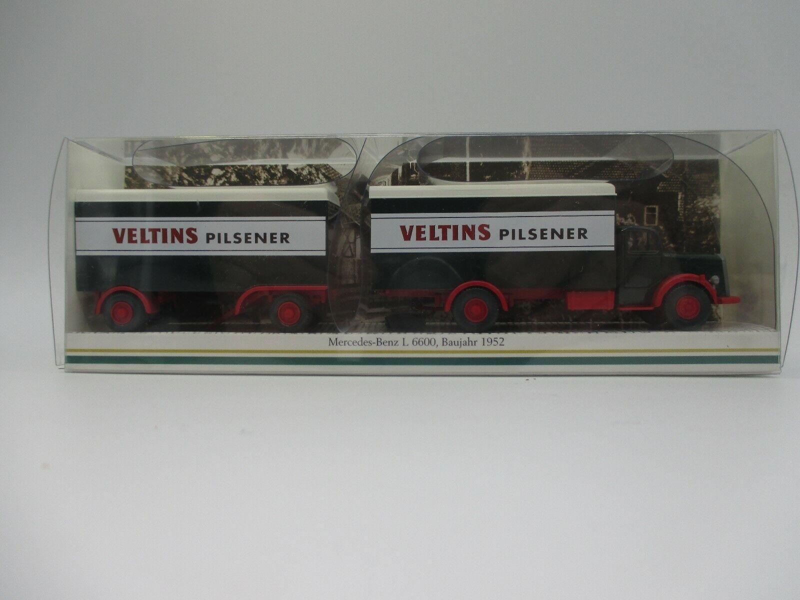 Wire  MB l6600 Tappetinohängerzug Veltins Pilsener modellololo pubblicitari gk104