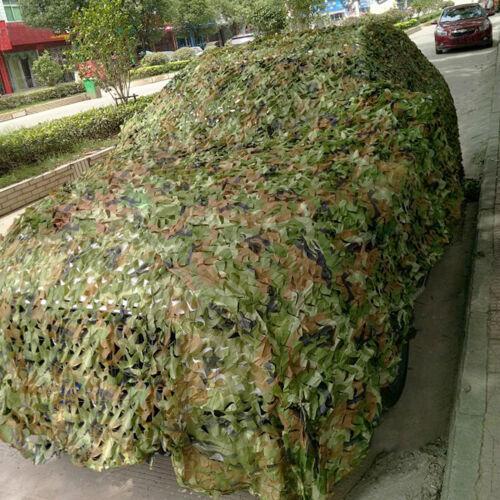 5m 3m Filet NET Camouflage Couverture cacher chasse Jeu de sport outdoors forêt