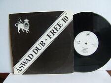 "Aswad - Aswad Dub  Free 10''  XPS 148 UK 10""  1st Press 1982 CBS"