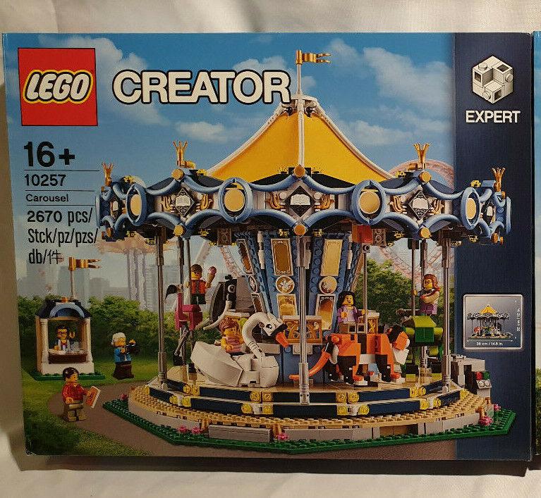 LEGO CREATOR 10257 Le Manège neuf scellé 43