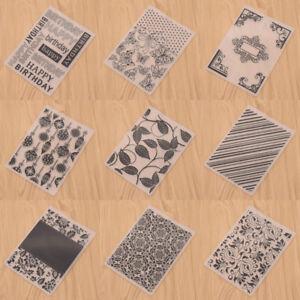 Embossing-Folder-Scrapbooking-DIY-Geburtstag-Geschenk-Herz-Rahmen-Praegeschablone