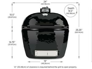 Primo-Oval-LG-300-Ceramic-Smoker-Grill-model-PRM775-WE-WILL-BEAT-ANY-PRICE