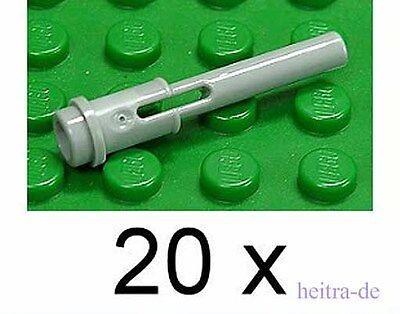 Pins 32054 NEUWARE 20 x Pin mit Stopper schwarz LEGO Technik