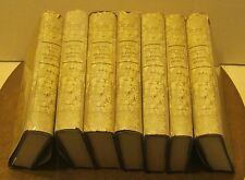 7 Volume Set HISTORIA CRITICA de la LITERATURA ESPANOLA Don Jose Amador 1969 ED