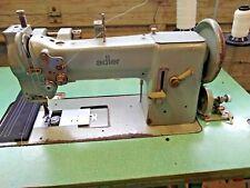 Adler 67 Ga 373 Walking Foot Lockstitch Sewing Machine Industrial Withtable