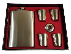 Klassische Weihnachtsgeschenke.Details Zu Klassische Silber Metall Flachmann 4 Shot Gläser Trichter Weihnachtsgeschenk
