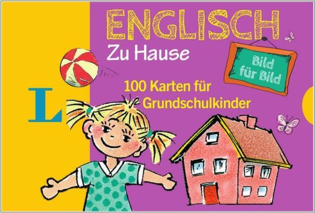 NEU: Langenscheidt ENGLISCH zu Hause - 100 Karten für Kinder und Sprachanfänger