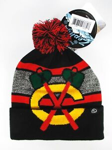 Weitere Wintersportarten Eishockey Chicago Blackhawks Mammoth Bobble Knit