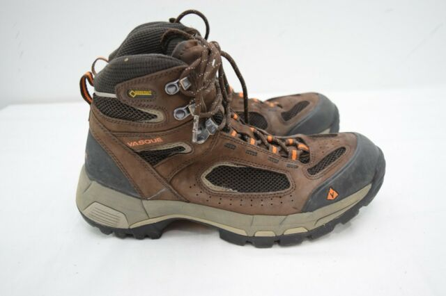 Vasque Breeze 2.0 Mid Mens Size 9.5 Brown Leather Gore-Tex Hiking Boots