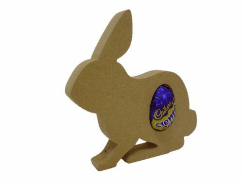 Free Standing Mdf 18mm Rabbit shape Creme Egg holder F14