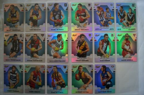 2012 AFL Select Complete Set Best and Fairest Cards in Sleeves big,BIG NAMES