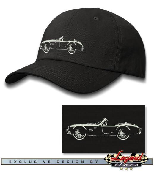 """Multiple Colors American Car 1965 AC Shelby Cobra 427 SC /""""Art/"""" Baseball Cap"""