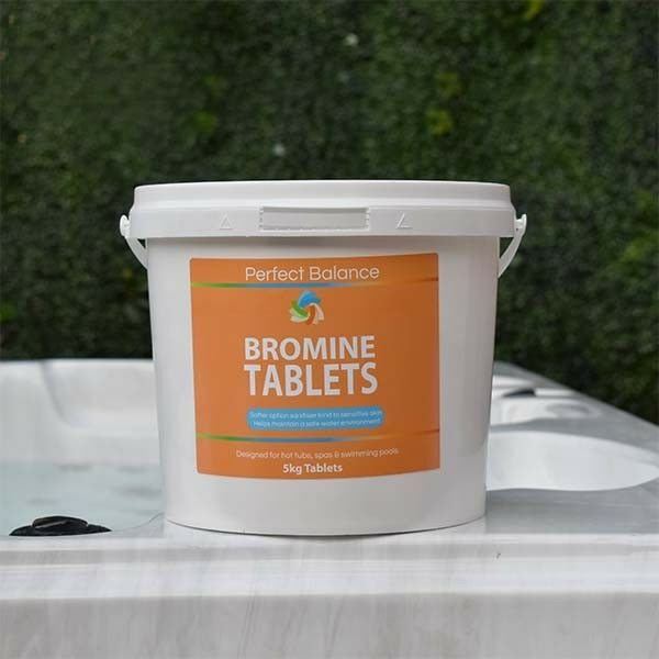 HTS 5kg of Bromine Tablets | Pools, Spa, Hot Tubs | FREE P&P
