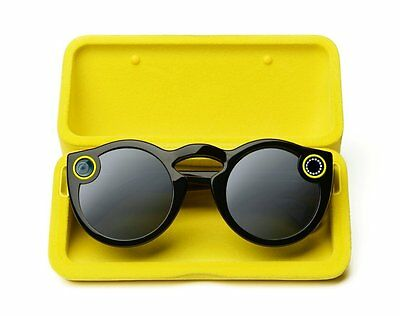 SnapChat Spectacles - Black * Brand new Sealed * Snap Chat SunGlasses Camera WOW
