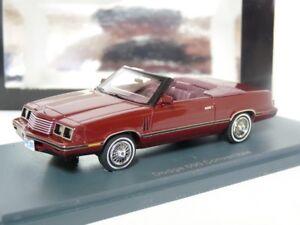 Neo-44995-1-43-1985-Dodge-600ES-Convertible-Resin-Model-Car