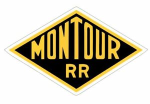 Montour Railroad Sticker Decal R6982 Railway Train Sign YOU CHOOSE SIZE
