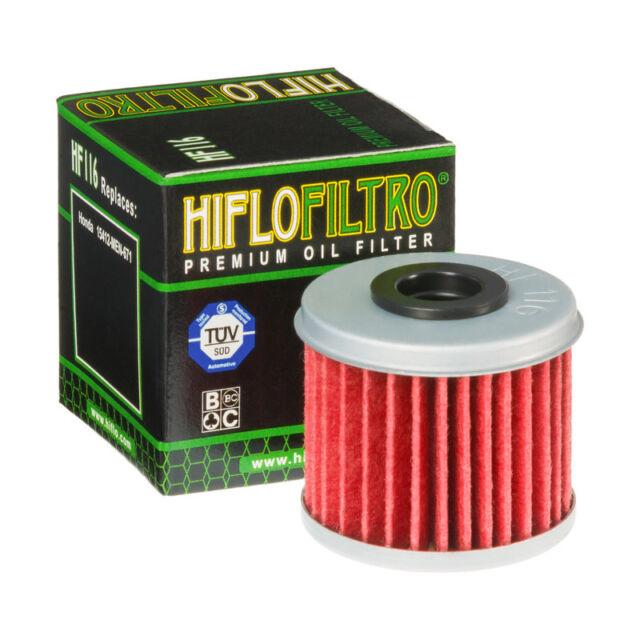 Hiflo HF116 Motorcycle Replacement Premium Engine Oil Filter