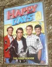 Happy Days - The Complete Third Season (DVD, 2007), NEW AND SEALED, 4 DISCS