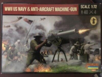 Strelets WWII US Navy AA Machine Gun #M112  1//72 MIB