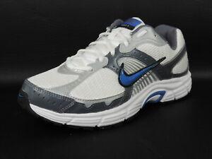 Nike-Mens-Shoes-Dart-VII-Running-Sneakers-White-Black-Mesh-Athletic-354491-141