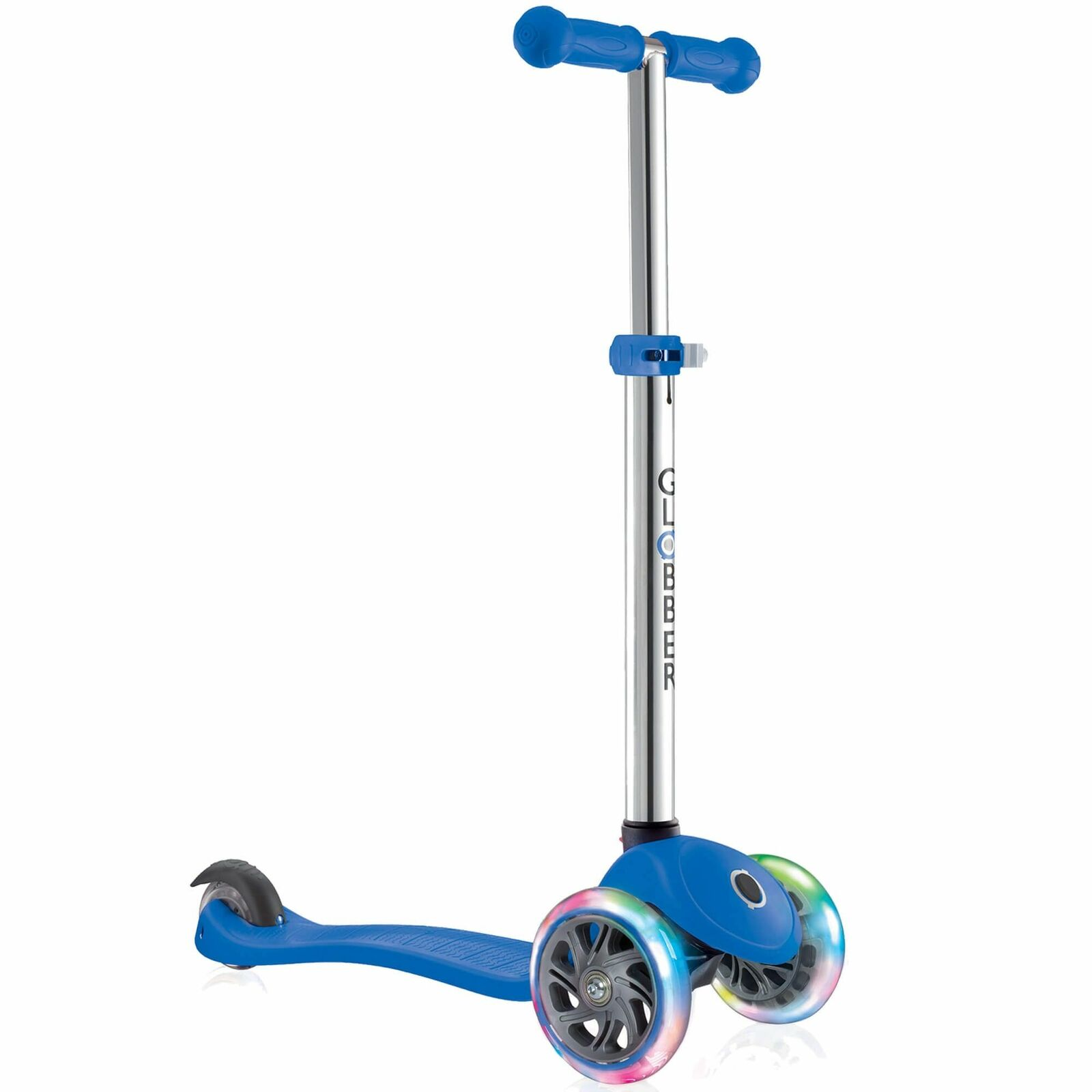 Globber Primo Luces Complete Patinete Incl.wheel Luces - Azul Marino